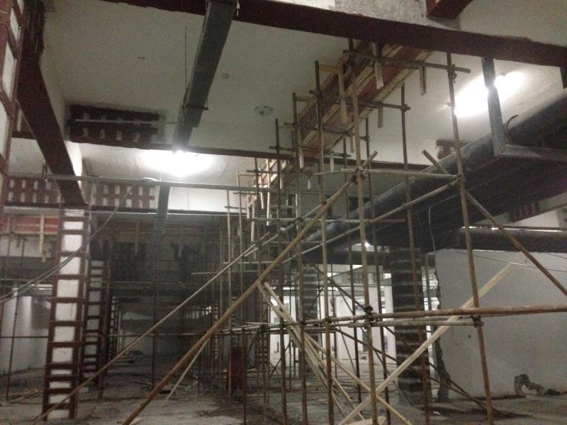 柱碳布施工